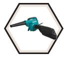 Blower / Vacuum (Kit) - 145 CFM - 6.8 amps / UB1103