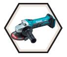"Angle Grinder (Tool Only) - 4-1/2"" dia. - 18V Li-Ion / BGA452Z"
