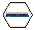 "18"" - Combo Coarse Push Broom"