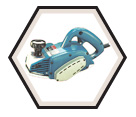 "Curved Planer (Kit) - 4-3/8"" w. - 9.6 amps / 1002BA"