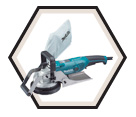 "Concrete Planer (Kit) - 5"" w. - 10.0 amps / PC5001C"