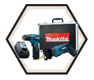 2 Piece Combo - Recip - Drill - (2) 12V Max Li-Ion / LCT212X
