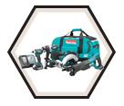 4 Piece Combo LXT - Drill / Hammer - Impact - Recip - Circ Saw - (2) 18V Li-Ion / DLX4022M