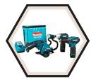 4 Piece Combo - Drill - Impact - Circ Saw - Flashligh - (2) 12V Max Li-Ion / LCT407