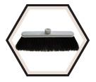 Sweep-Ezy Magnetic Broom Head