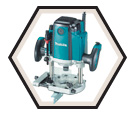 """H.P. Plunge Router (Kit) - 3-1/2"""" Collet - 15.0 amps / RP1801F"""