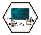 "H.P. Router (Kit) - 2-1/4"" Collet - 11.0 amps / RF1101KIT"
