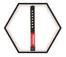 Pocket Flashlight - LED - 3 AAA / 6WORKLIGHT
