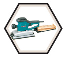 """Sheet Finishing Sander (Kit) - 1/2"""" - 2.9 amps / BO4900V"""