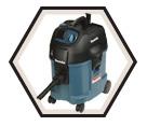 L Class Dust Extractor - 446L - 8.7 amps / 446L