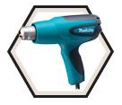 Heat Gun (Kit) - 350° and 500°F - 10.0 amps / HG5012