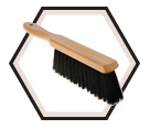 Hair / Fibre Blend Counter Brush
