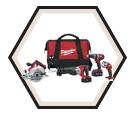4 Tool Combo Kit M18™ - 18V Li-Ion / 2694-24