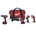4 Tool Combo Kit M18™ - 18V Li-Ion / 2696-24