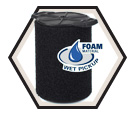 Vacuum Filter - 5-20 gal - Foam / 40158 *VF7000 WET