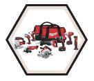 9 Tool Combo Kit M18™ - 18V Li-Ion / 2696-29