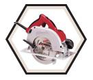 "Circular Saw (Tool Only) - 7-1/4"" - 15.0 A / 6390-20"