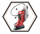 Compact Electromagnetic Drill Press Kit - 12.5 A / 4208-1