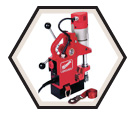Compact Electromagnetic Drill Press Kit - 9.0 A / 4270-21