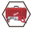 """D-Handle Right Angle Drill (Kit) - 1/2"""" - 7.0 A / 3107-6"""