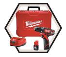 "Driver Drill M12™ - 3/8"" Chuck - 12V Li-Ion / 2407 Series"