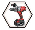 """Hammer Drill (Kit) M28™ - 1/2"""" - 28V Li-Ion / 0726-22"""