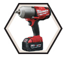 "High Torque Impact Wrench M18 FUEL™ - 1/2"" - 18V Li-Ion / 2763 Series"