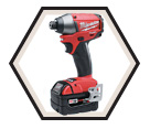 "Impact Driver Brushless M18 FUEL™ - 1/4"" Hex Chuck - 18V Li-Ion / 2653 Series"