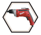 "Metal Screwgun (Tool Only) - 2500 RPM - 1/4"" Hex - 6.5 amps / 6780-20"