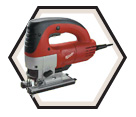Orbital Jig Saw (Kit) - Top-Handle - 6.5 A / 6268-21