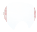 Face Shield Cover - Respirator - Clear / 6885