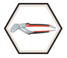"Quick Adjust Reaming Pliers - 10"" / 48-22-3110"