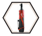 "Ratchet (Kit) M12™ - 1/4"" - 12V Li-Ion / 2456-21"