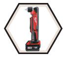 Right Angle Drill (Kit) M18™ - 18V Li-Ion / 2615-21