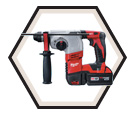 "Rotary Hammer (Kit) M18™ - 16 lbs - 7/8"" SDS-Plus® - 18V Li-Ion / 2605-22"
