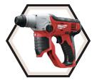"Rotary Hammer (Tool Only) M12™ - 3.53 lbs - 1/2"" SDS-Plus® - 12V Li-Ion / 2412-20"