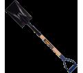 Garden Spade - D-Handle - Steel / CSHGS2FD *COUGAR