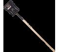 Square Point Shovel - Long Handle - Steel / GHS2FLS *PRO