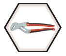 Tongue & Groove Pliers - 10'' / 48-22-3210