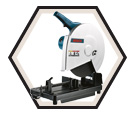 "Portable Cut-Off Saw - 14"" dia. - 15 amps / 3814"