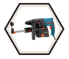 "Rotary Hammer (Tool Only) - 3/4"" - SDS-Plus - 6.1 amps / 11250VSRD *BULLDOG"