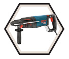 "Rotary Hammer (Tool Only) - 1"" - SDS-Plus - 7.5 amps / 11255VSR *BULLDOG"