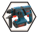 "Rotary Hammer (Kit) - 3/4"" - SDS-Plus - 36V Li-Ion / 11536C-2"