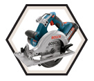 "Circular Saw - 6-1/2"" - 36V Li-Ion / 1671 Series"
