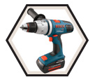 "Hammer Driver Drill Brute Tough™ - 1/2"" - 36V Li-Ion / 18636 Series"