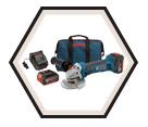 "Angle Grinder (Kit) - 4-1/2"" dia. - 18V Li-Ion / CAG180 Series"