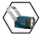 Flashlight - Incandescent - 18V Li-Ion / CFL180