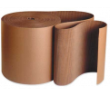 Corrugated Cardboard - Single Face - 18-18 Lbs. - Brown / SFC18 Series (250'/RL) *LIGHT DUTY