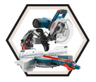 "Dual-Bevel Glide Miter Saw - 10"" - 15.0 A / CM10GD Series"