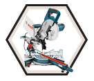 "Single Bevel Compound Miter Saw - 8-1/2"" - 12.0 A / CM8S"